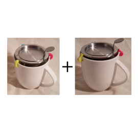 Pack Mug / réducteurs / filtre deluxe DUO