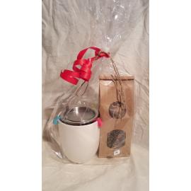 Pack 1 mug / 1 lot réducteurs / 1 filtre deluxe + Infusion