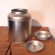 Boite métallique dôme